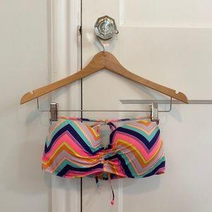 Victoria's Secret Chevron Bandeau Bikini Top - 36D
